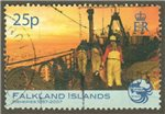 Falkland Islands Scott 926 Used