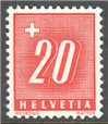 Switzerland Scott J63a MNH