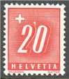 Switzerland Scott J63a Mint
