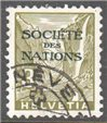 Switzerland Scott 2-O-42 Used