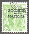 Switzerland Scott 2-O-54a Used