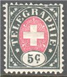 Switzerland Telegraph Zumstein 13 Mint