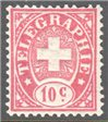 Switzerland Telegraph Zumstein 14 Mint