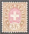 Switzerland Telegraph Zumstein 18 Mint