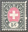 Switzerland Telegraph Zumstein 13 Used