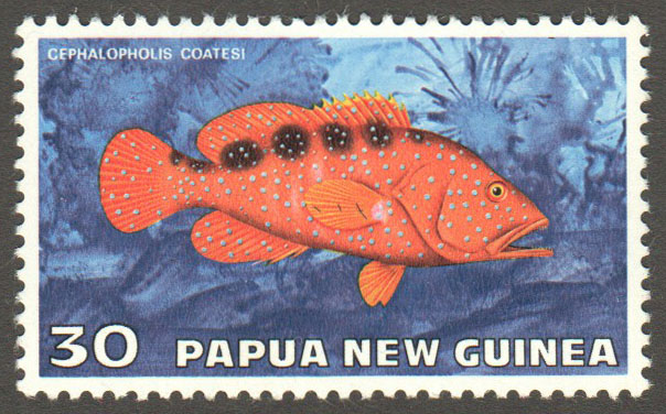 Papua New Guinea Scott 444 MNH