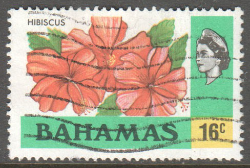 Bahamas Scott 398 Used