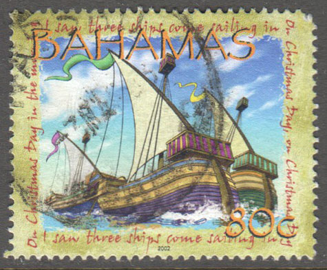 Bahamas Scott 1056 Used