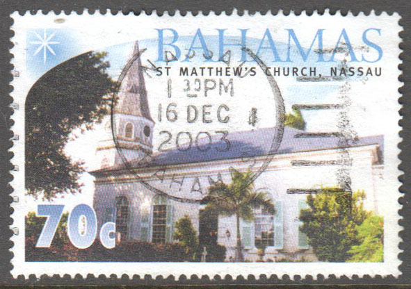Bahamas Scott 1088 Used