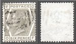Great Britain Scott 62 Used Plate 16 - OF (P)