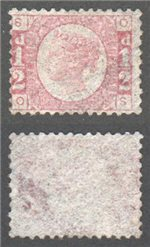 Great Britain Scott 58 MNG Plate 5 - OS (P)