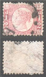 Great Britain Scott 58 Used Plate 11 - JL (P)