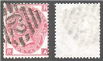 Great Britain Scott 49 Used Plate 10 - RA (P)