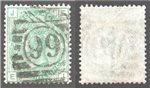 Great Britain Scott 64a Used Plate 8 - EJ (P)