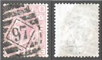 Great Britain Scott 67 Used Plate 9 - BC (P)