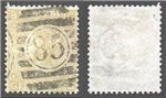 Great Britain Scott 52 Used Plate 4 - GB (P)