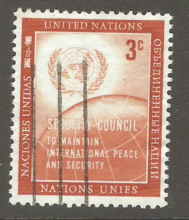 United Nations New York Scott 55 Used