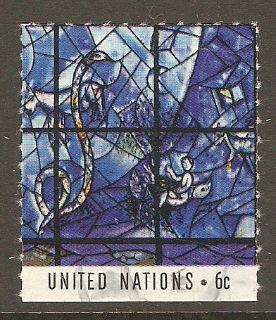 United Nations New York Scott 179e Used