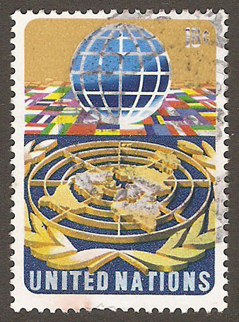 United Nations New York Scott 251 Used