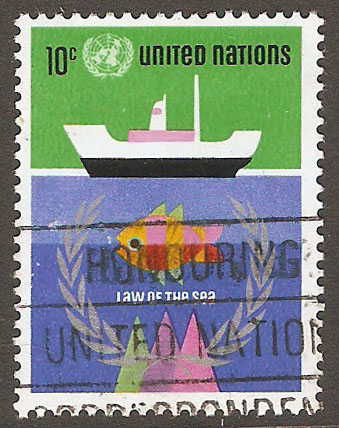 United Nations New York Scott 254 Used