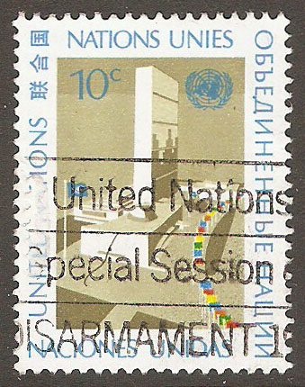United Nations New York Scott 250 Used