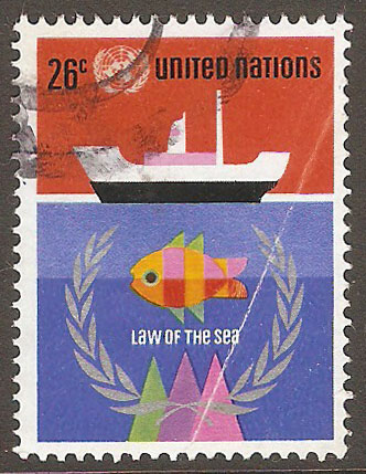 United Nations New York Scott 255 Used