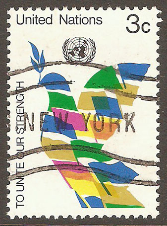 United Nations New York Scott 257 Used