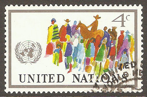 United Nations New York Scott 268 Used