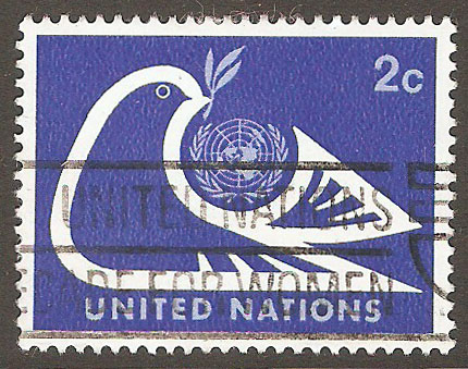 United Nations New York Scott 249 Used