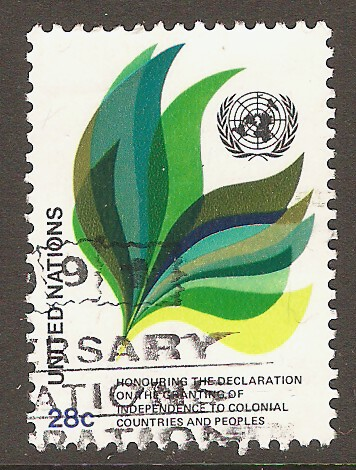 United Nations New York Scott 369 Used