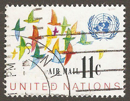 United Nations New York Scott C16 Used