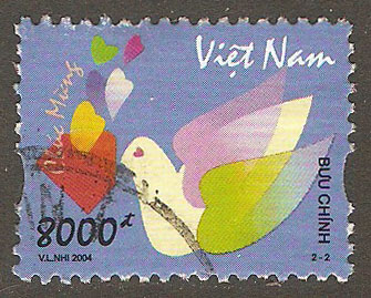 N. Vietnam Scott 3207 Used