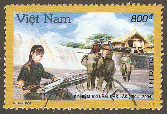 N. Vietnam Scott 3236 Used