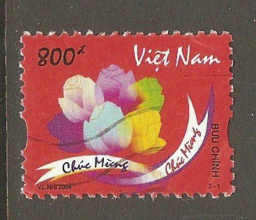 N. Vietnam Scott 3206 Used