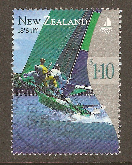 New Zealand Scott 1617 Used