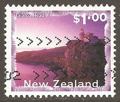 New Zealand Scott 1636 Used