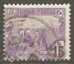 Tunisia Scott 36 Used