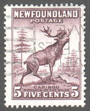 Newfoundland Scott 190 Used F - Click Image to Close