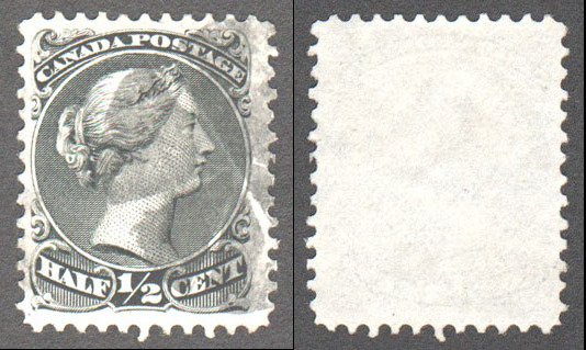 Canada Scott 21 Used VF (P) - Click Image to Close