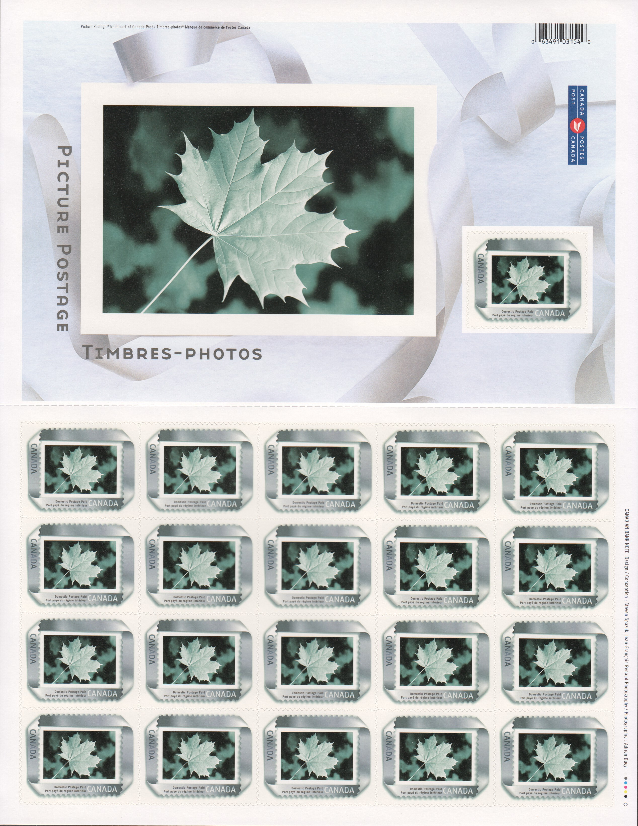 Canada Scott 2063 MNH (B10-7) - Click Image to Close