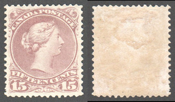 Canada Scott 29b Mint VF (P) - Click Image to Close